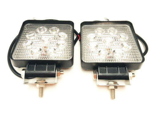 2x LED Arbeitsscheinwerfer Arbeitslampe Traktor Bagger Trailer LKW Off-Road 2200