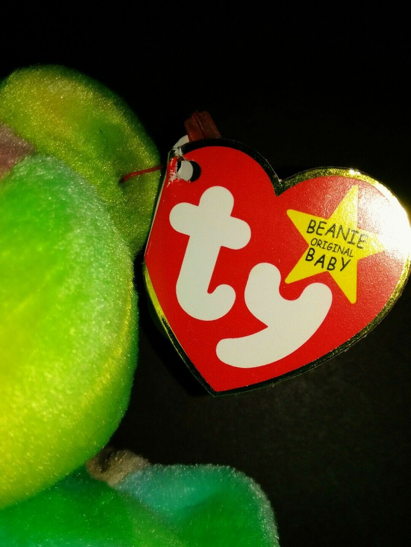 RETIRED VINTAGE Ty Peace  Beanie  Babies Partial Partial Partial Solid 89d258