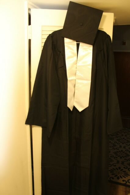 """60/"""" Satin Stole for Graduation Gown"""