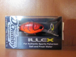 Illex Diving Chubby 38mm 4,3gFloating UV Secret Gold Baitfish