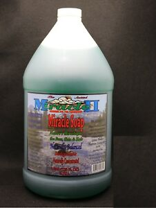 MIRACLE-II-SOAP-MOISTURIZER-GALLON-FACTORY-FRESH-034-SUMMER-SPECIAL-034-FREE-SHIPPING