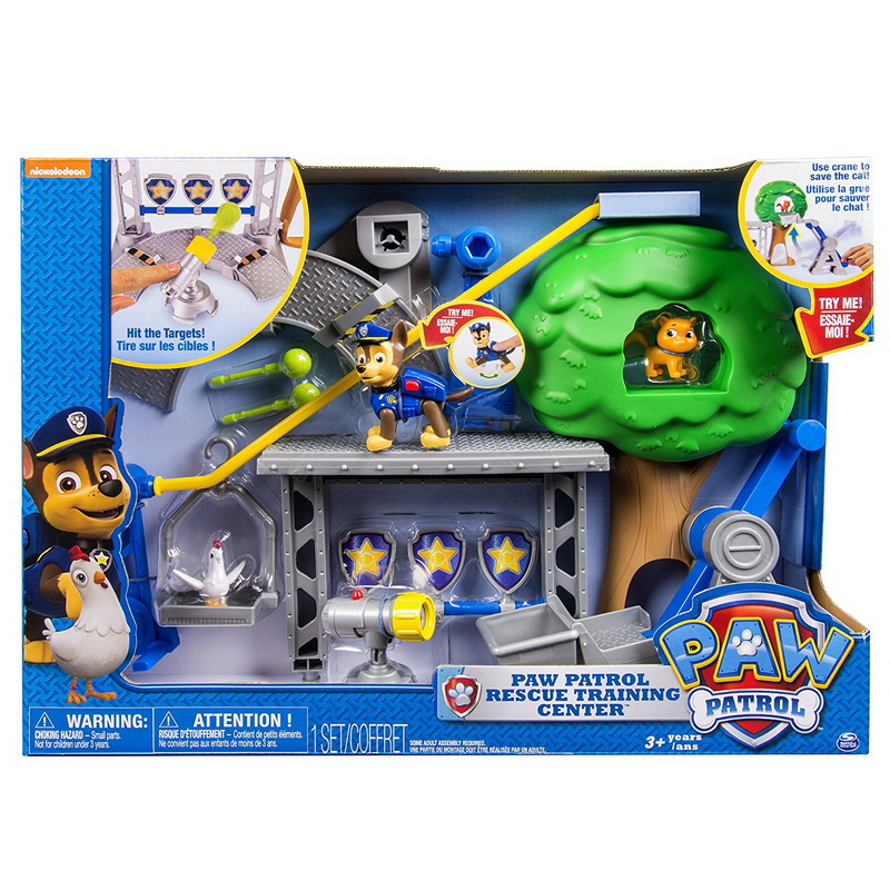 Paw Patrol Rescue Training Centre Deluxe Edition Family Board Game Play Set Toy