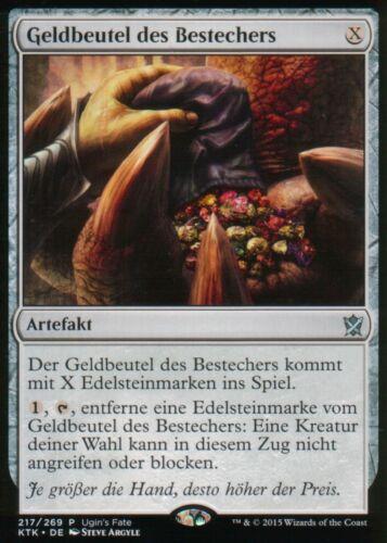 Briber/'s PurseNMUgin/'s Fate PromosGER Geldbeutel des Bestechers