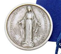 Mothers Day Our Lady Of Grace 1 Coin Token Miraculous Medal W Bag Italy By Mrt