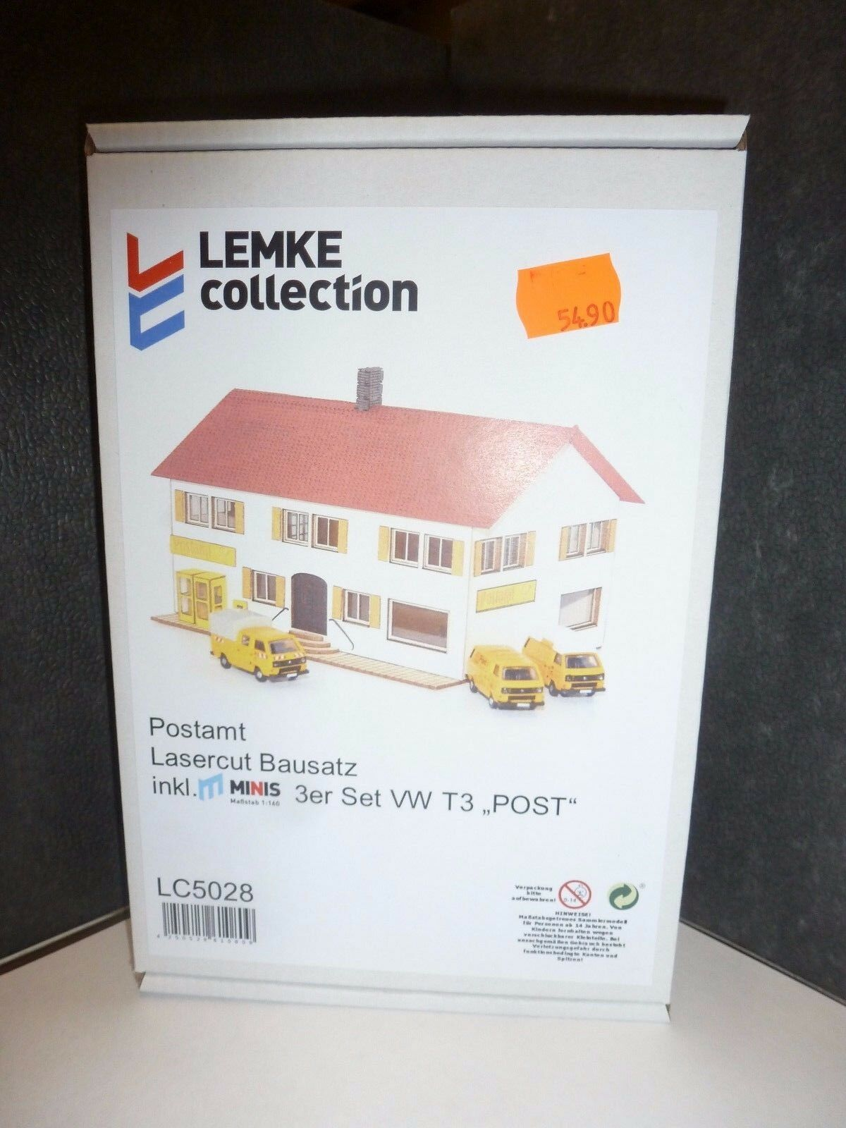 Lemke post edificio incl. 1x VW t3 post 3er set,