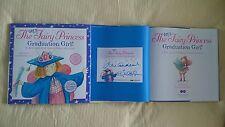 2x Signed Julie Andrews Emma Walton Very Fairy Princess Graduation Girl Book 1/1