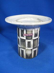 70-s-design-Ceramano-034-Polaris-034-Keramik-pottery-candlestick-Kerzenstaender-403