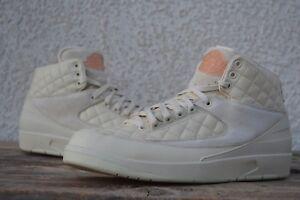 56b9f6129ffd Nike Air Jordan 2 Retro II Sand lot Beach Cream Just Don 2 BEACH ...