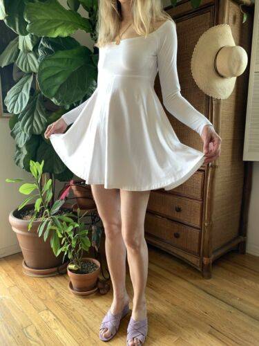 Vintage 80's Norma Kamali Disco Party Dress Mini … - image 1