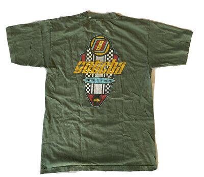 Vintage 90s Gotcha Made In USA Art Surf Style Medium Big Logo Tee T-shirt Printed Fashion Inspired Designer Streetwear J520