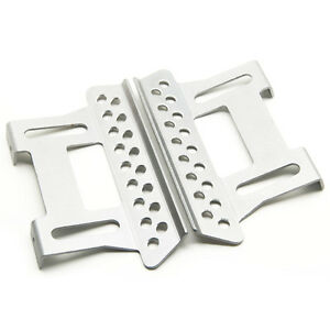 Alloy Step Plates Black For AXIAL SCX10 CC01 1//10 1 Pair Rock Crawler Sliders