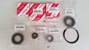 TOYOTA-OEM-93-98-Supra-JZA80-diff-overhaul-rebuild-kit-seals-bearings-O-ring