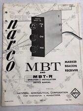 7cba0f31eed9 item 5 NARCO MBT MBT-R Marker Beacon Receiver Operation Installation  Service Manual -NARCO MBT MBT-R Marker Beacon Receiver Operation  Installation Service ...