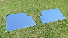Land Rover Series 2 2a 3 88 109  Floor Plates Panels 3mm 330037  330038