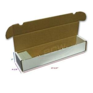 BCW-930-COUNT-ct-Corrugated-Cardboard-Storage-Box-Sports-Trading-Gaming-Cards
