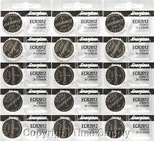 15 pcs 2012 Energizer Watch Batteries CR2012 CR 2012 3V Lithium Battery 0%HG