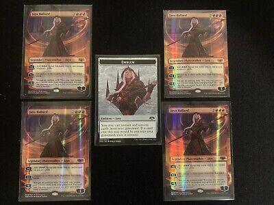 4 FOIL THE HAUNT OF HIGHTOWER Near Mint DCI Promo Mythic Magic Spanish x4