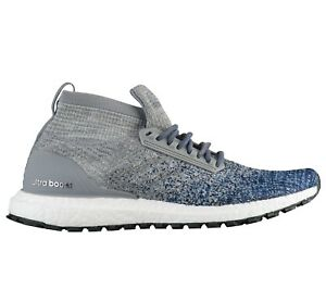 5d7e1c4c7 Adidas Ultra Boost All Terrain Mens BB6128 Grey Indigo Primeknit ...