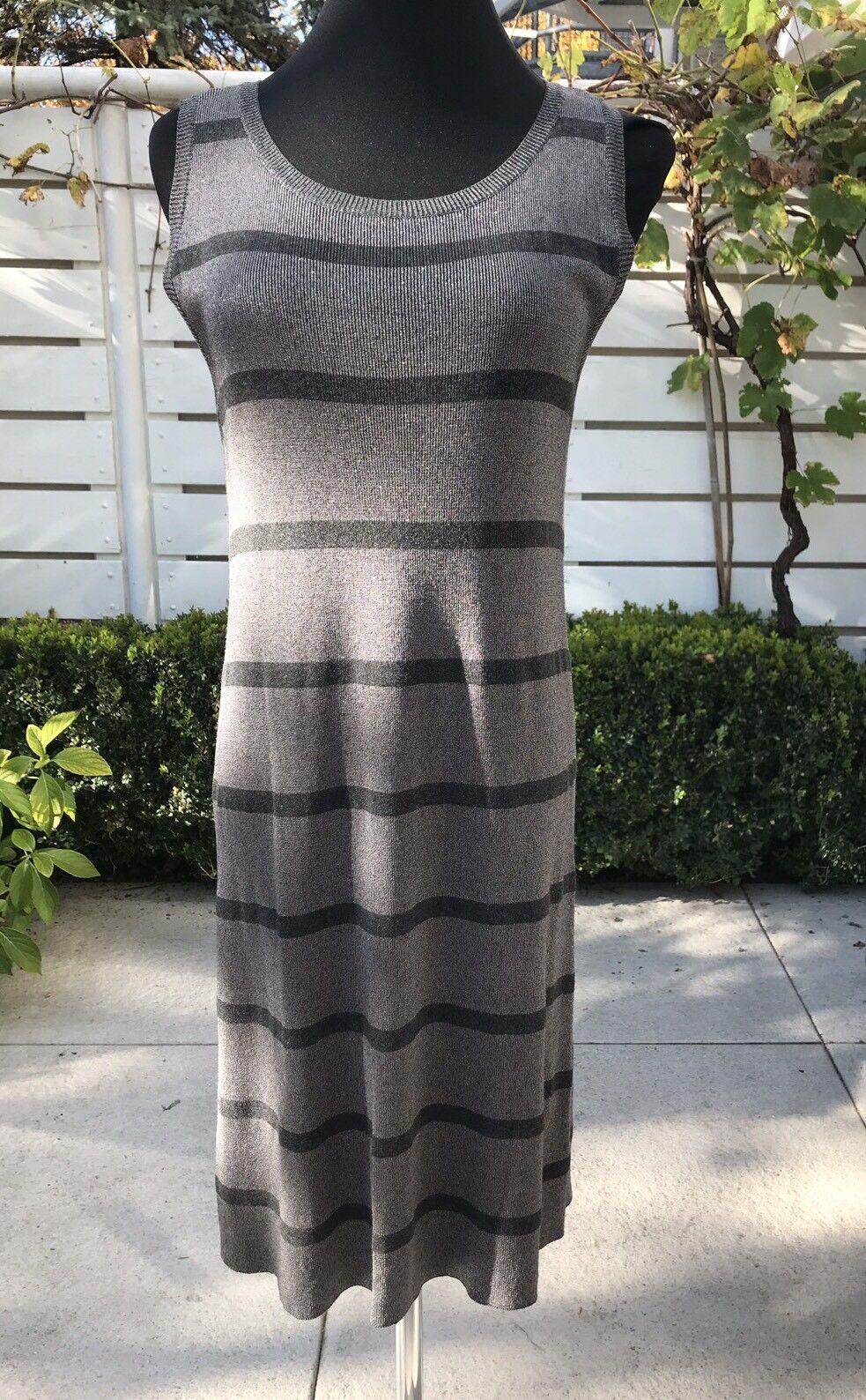 Kleid Max&Co Gr. M 38 silber grau neu