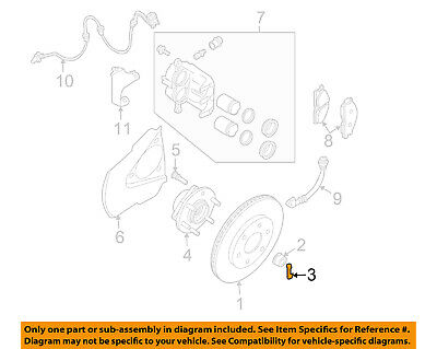 Genuine Nissan Axle Nut Cotter Pin 40073-0L700
