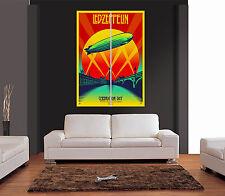 Led Zeppelin Celebration Day Gigante De Pared Art Print imagen Cartel