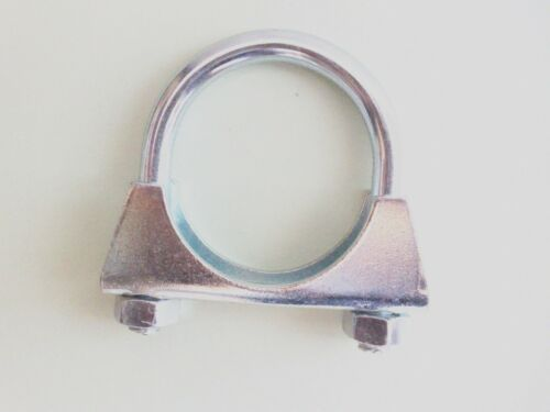 2 Stück Auspuffschelle Bügelschelle Rohrschelle Auspuff Rohr M10 x 54 mm S25054a