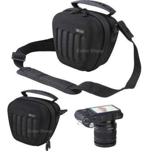 Eva Duro Hombro puente cámara caso bolsa para Panasonic DMC FZ330 FZ82 FZ72