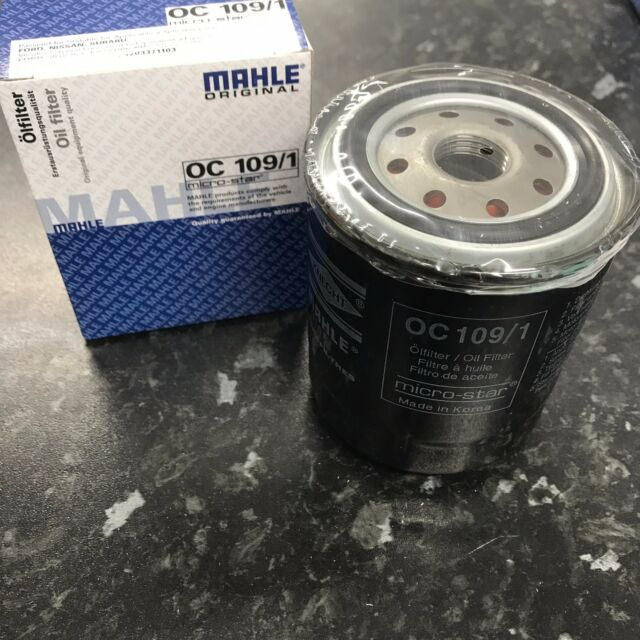 Mahle Knecht Oil filter OC109/1 Fits On SUBARU EA71 LEONE II 1600