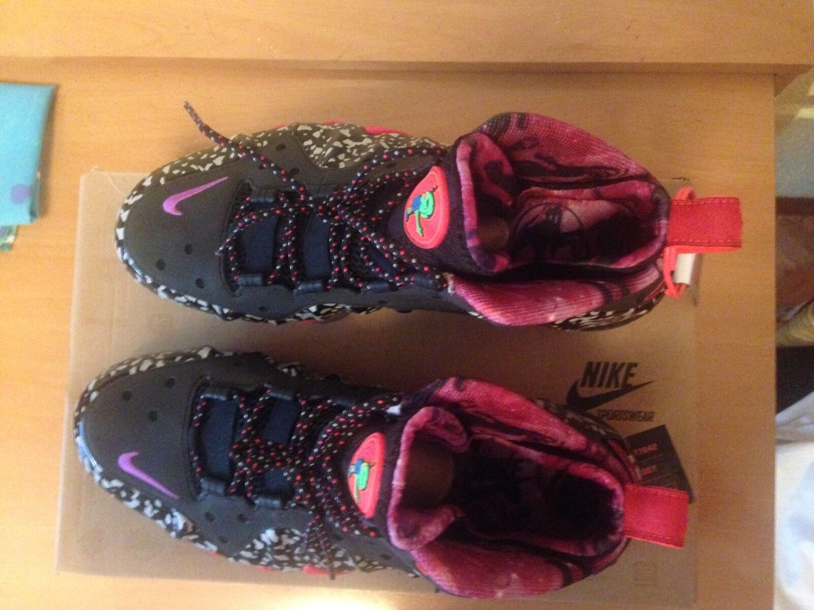 save off f286a 41501 ... Nike Barkley Posite Max Prm Qs Size 9 Usa Usa Usa 42.5 Eur New Nueva  50e068 ...