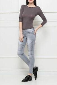 Ladies-Super-Skinny-5-Pocket-Stretchy-Designer-Women-039-s-Denim-Jeans-Trousers