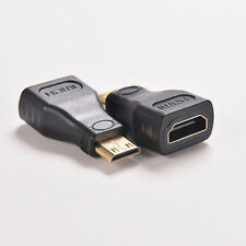 For HDTV MiNi hdmi  Type C Male to hdmi  Type A Female Adapter Connector ITBC