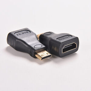 For HDTV MiNi hdmi  Type C Male to hdmi  Type A Female Adapter Connector Bg