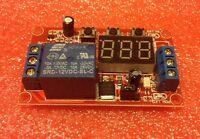 12v Led Digital Display Adjustable Multifunction Delay Relay Module Timer