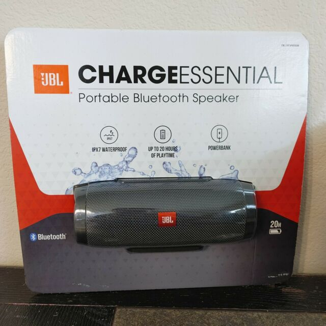 JBL Charge Essential Portable Bluetooth Speaker Brand New Sealed  JBLCHARGEESSAM
