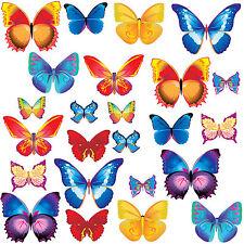 Butterflies Girls Bedroom Wall Stickers Graphics Decals - Butterfly
