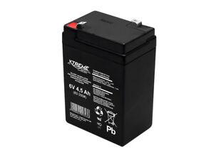 Batterie-Gel-Rechargeable-6V-4-5Ah-Xtreme-sans-entretien-sans-fuite