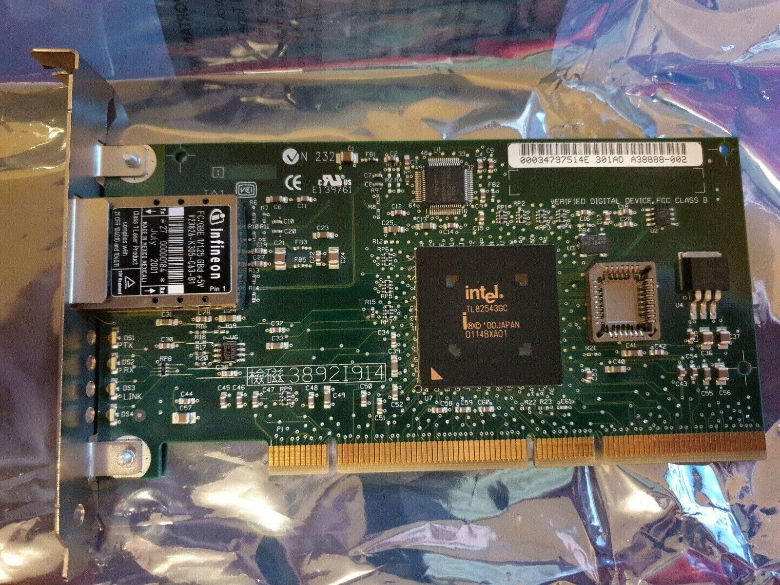 Fibre Channel LAN Card Intel PRO 1000F Network Card 738630