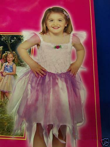 Pink Fairy Princess Pixie Dress Up Toddler Child Costume