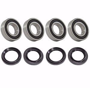 All Balls UTV Rear Wheel Bearing Kit for Yamaha Rhino 450 660 700 25-1542