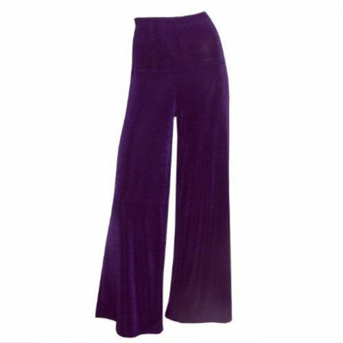 Casual extra lunga MAGNA Slinky Lagenlook Pantaloni Strech nel look Marlene Viola