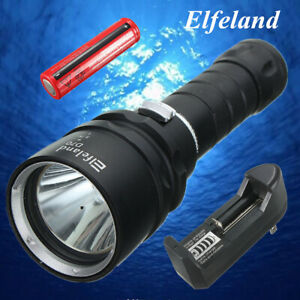 Elfeland-Waterproof-10000Lm-T6-LED-Scuba-Diving-Flashlight-Torch-Q