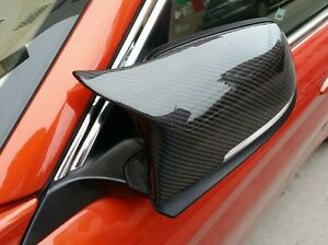 M3 Style Replace Carbon Fiber Mirror Cover Caps For Bmw F20 F21 F22