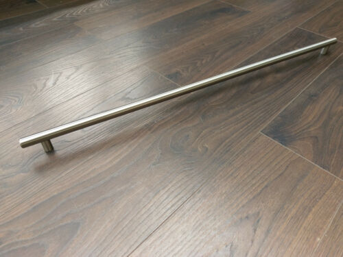 Chunky SOLID Stainless Steel Long T Boss Bar Handle 678 OR 773mm centres 14 dia