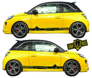 Details About Opel Adam Corsa Karl Combo Meriva Mokka Insignia Zafira Side Stripes Stickers Show Original Title