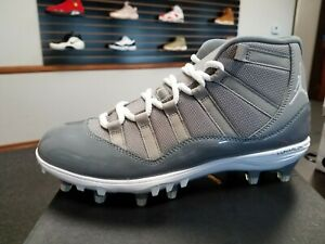 f648f50f733ea6 BRAND NEW MEN S AIR JORDAN 11 XI RETRO TD FOOTBALL CLEAT COO GREY ...