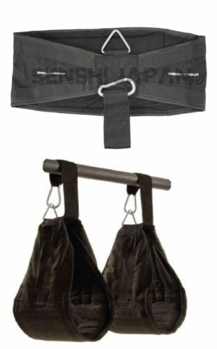 Senshi/'s Universal Abdominal Slings Pair Ab Slings Straps Chin Up Bar Gym