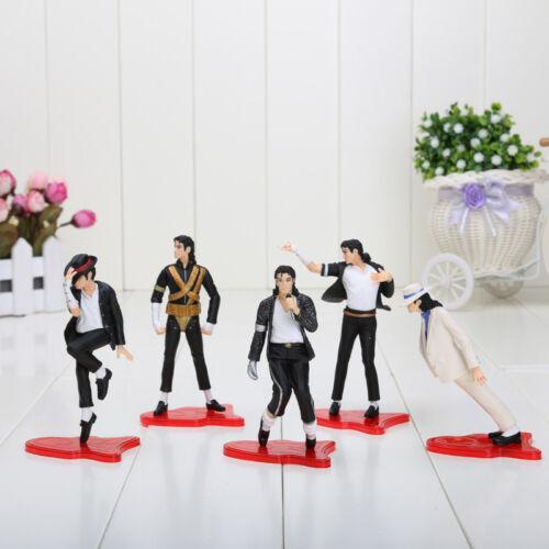 Michael Jackson set 5 figuras 12cm Action Figure Jacko