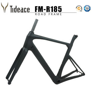 Details about 140mm Disc Brake 12*142mm Thru Axle Road Racing Cycling  Bicycle Frames OEM Bike