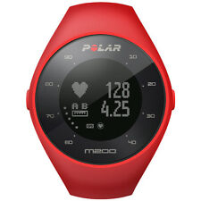 Polar M200 Bright Red GPS Running Wrist-Based HR Activity Tracking Size M/L