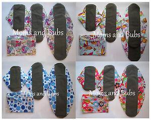 Set-of-4-Reusable-Women-s-Reusable-Cloth-Menstrual-Sanitary-Pads-Mini-Wet-Bag